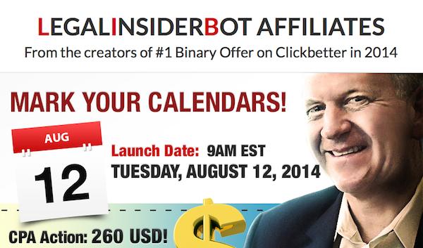 Binary option robot affiliate program
