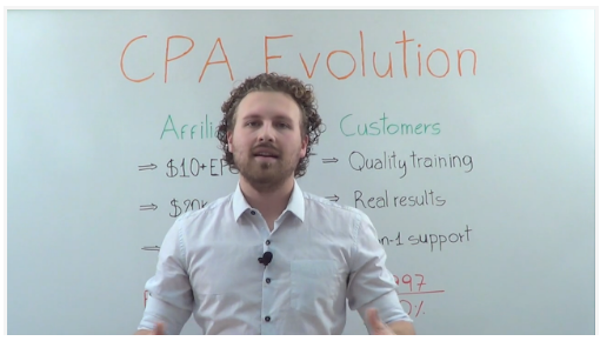 William Souza + Kenster - CPA Evolution affiliate program JV invite video