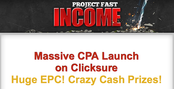 James Bradley + Paul Walker - Project Fast Income affiliate program JV invite video