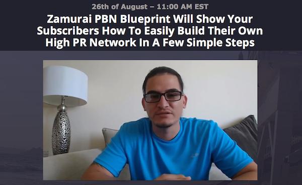 Joshua Zamora and Brad Spencer - Zamurai PBN Blueprint affiliate program JV invite video
