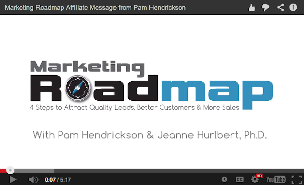 Pam Hendrickson + Jeanne Hurlbert PhD - Marketing Roadmap affiliate program JV invite video