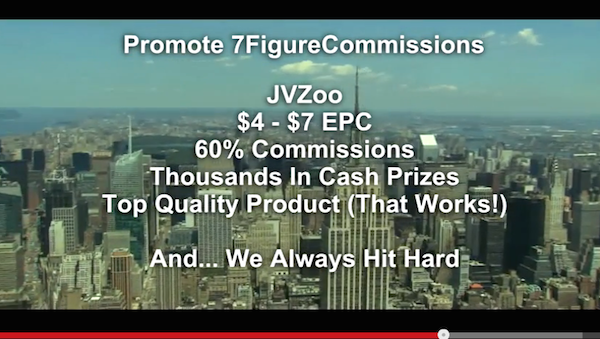 Richard Newton - 7FigureCommissions affiliate program JV invite video