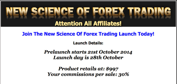 Forex broker affiliate program