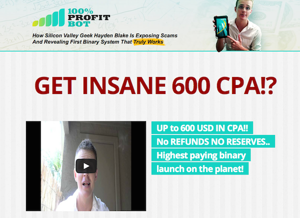 Stefan H + Mike S - 100 Percent Profit Bot launch affiliate program JV invite video