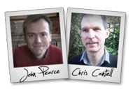 John Pearce and Chris Cantell - SEO Recovery launch affiliate program JV invite
