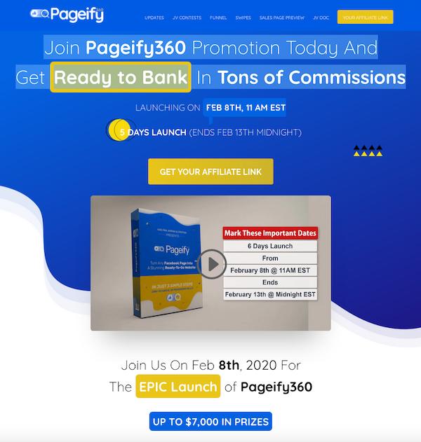 Han Fan - Pageify 360 Launch Affiliate Program JV Invite Video