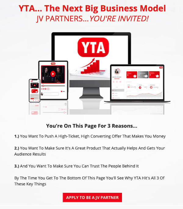 Caleb Maddix + Ryan O'Donnell - YTA Masterclass YT automation training affiliate program JV invite - Evergreen Affiliate Program Announced: Thursday, March 12th 2020