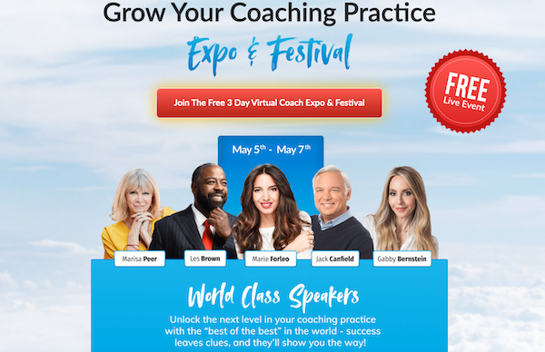 Eben Pagan - Virtual Coach Expo + Festival Affiliate Program JV Request Page - Pre-Launch Begins: Friday, April 23rd 2021 - Launch Day: Wednesday, May 5th 2021