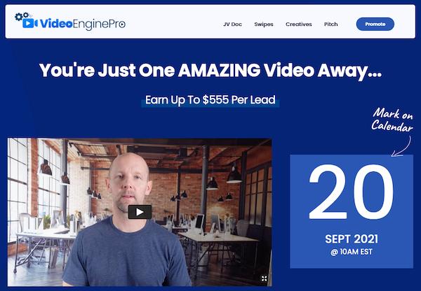 Brett Ingram + Mo Latif - VideoEnginePro Launch Affiliate Program JV Invite Page - Launch Day: Monday, September 20th 2021 @ 10AM EST
