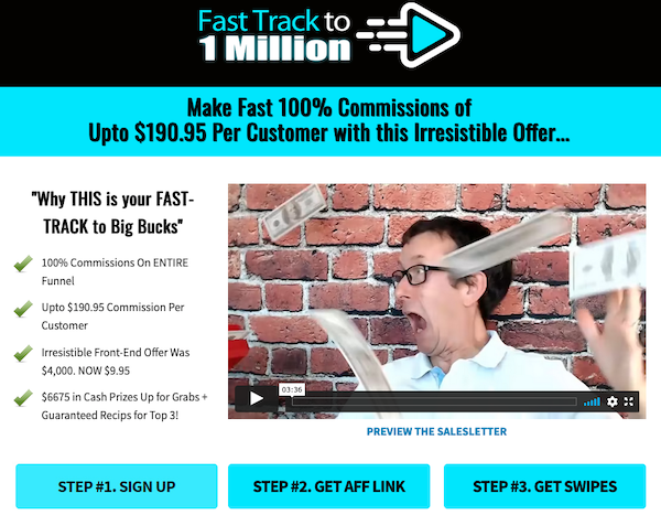 Michael Cheney - Fast Track To 1 Million Launch Affiliate Program JV Invite Page - Launch Day: Tuesday, November 16th 2021 @ 9AM EST - Monday, November 22nd @ 11:59PM EST